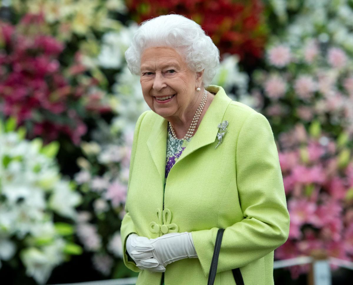 Королева Великобритании Елизавета II регулярный гость выставки цветов / Фото REUTERS