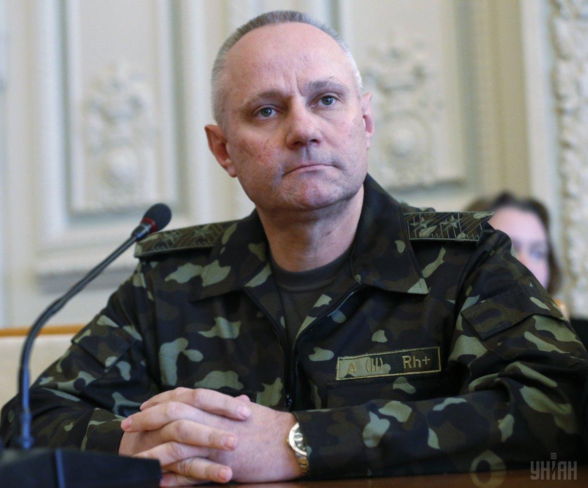 Руслан Хомчак стал новым начальником Генштаба ВСУ / фото УНИАН