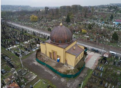 «Бейт-Кадишин» після реставрації фасаду і купола