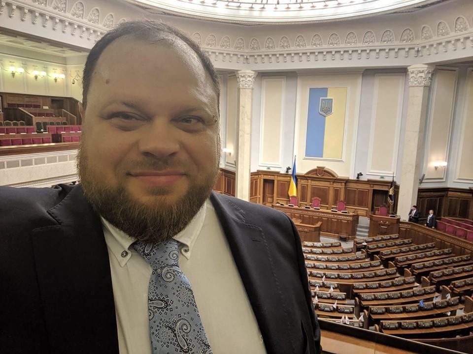 Стефанчук розповів про сподівання партії щодо представництва у Раді/ фото: facebook.com/ruslan.stefanchuk