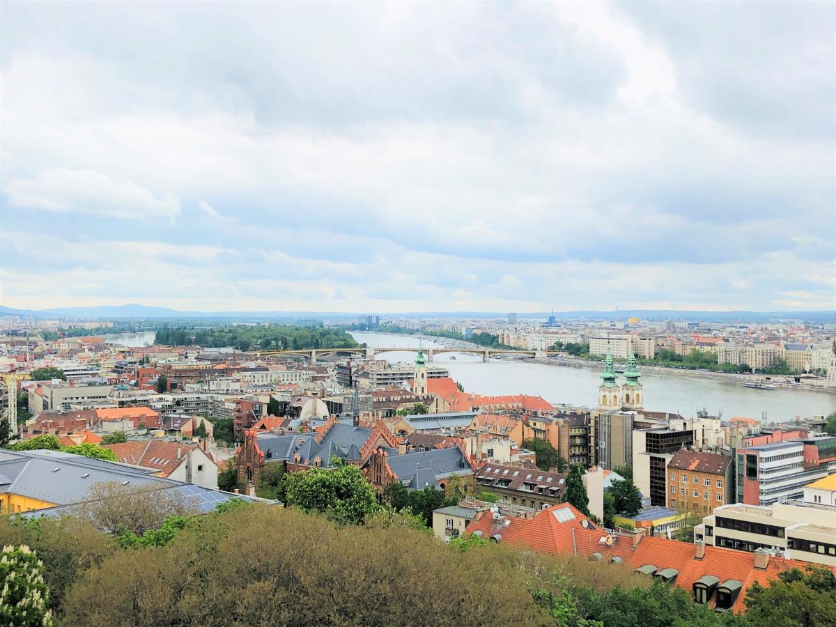 Красавец Будапешт раскинулся на берегах Дуная / Фото Вероника Кордон