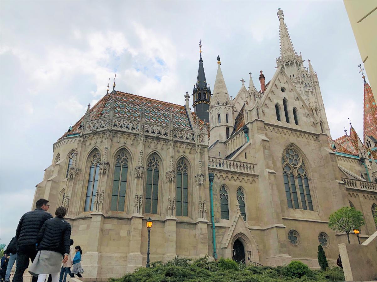 Церковь Святого Матьяша / Фото Вероника Кордон