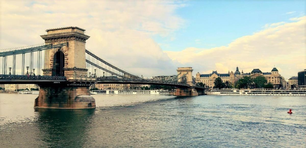 Цепной мост Сечени / Фото Вероника Кордон
