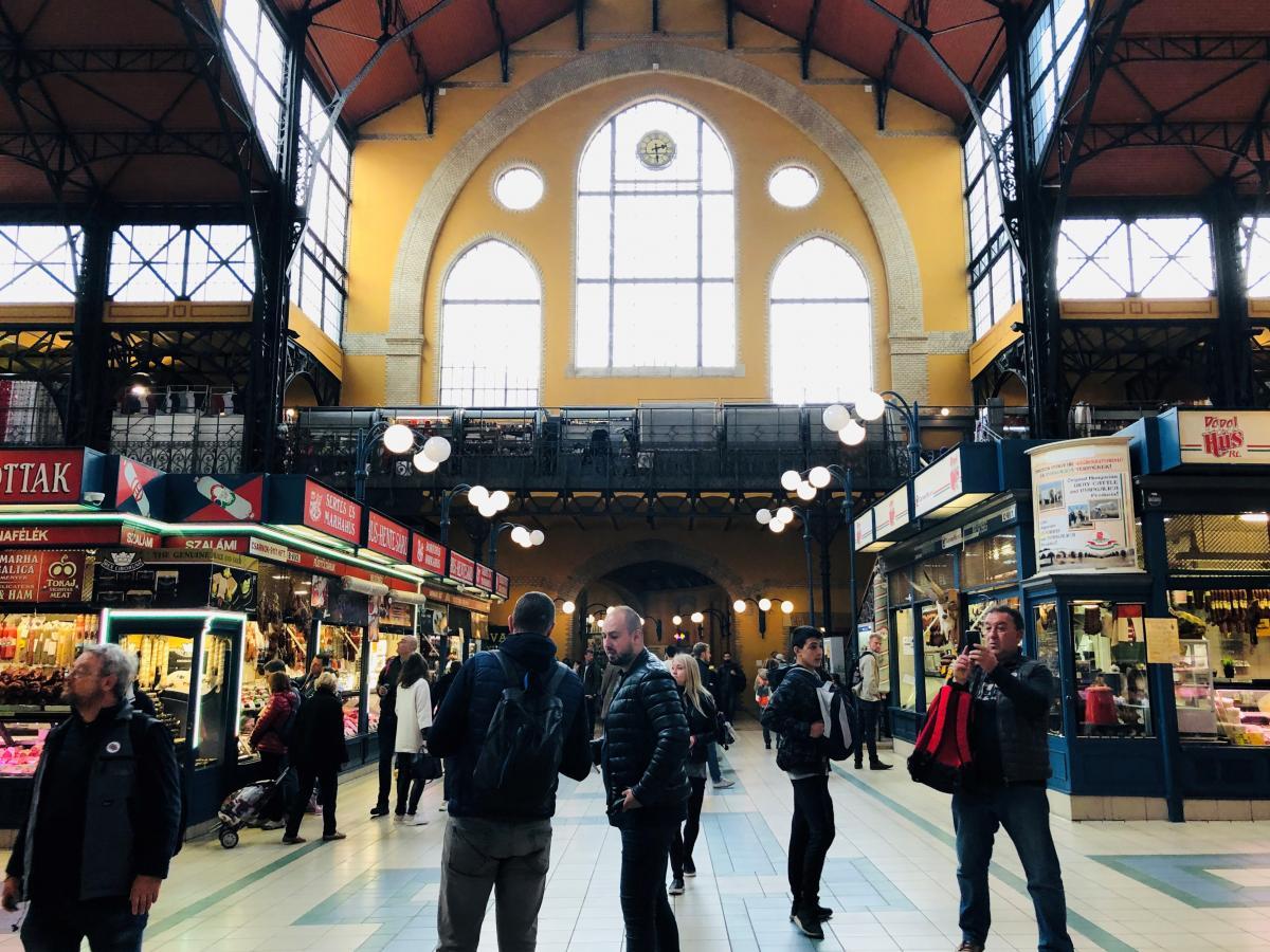 Центральный рынок Будапешта / Фото Вероника Кордон