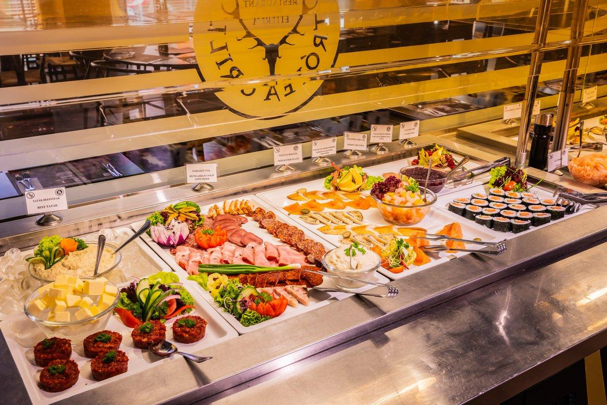 Ресторан Trofea Grill в Будапеште / Фото Вероника Кордон