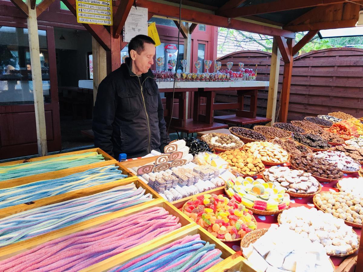 Любители сладостей привозят из Будапешта марципаны / Фото Вероника Кордон