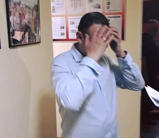 Чиновнику повідомлено про підозру у вчиненні кримінального правопорушення / фото facebook.com/kyiv.gp.gov.ua