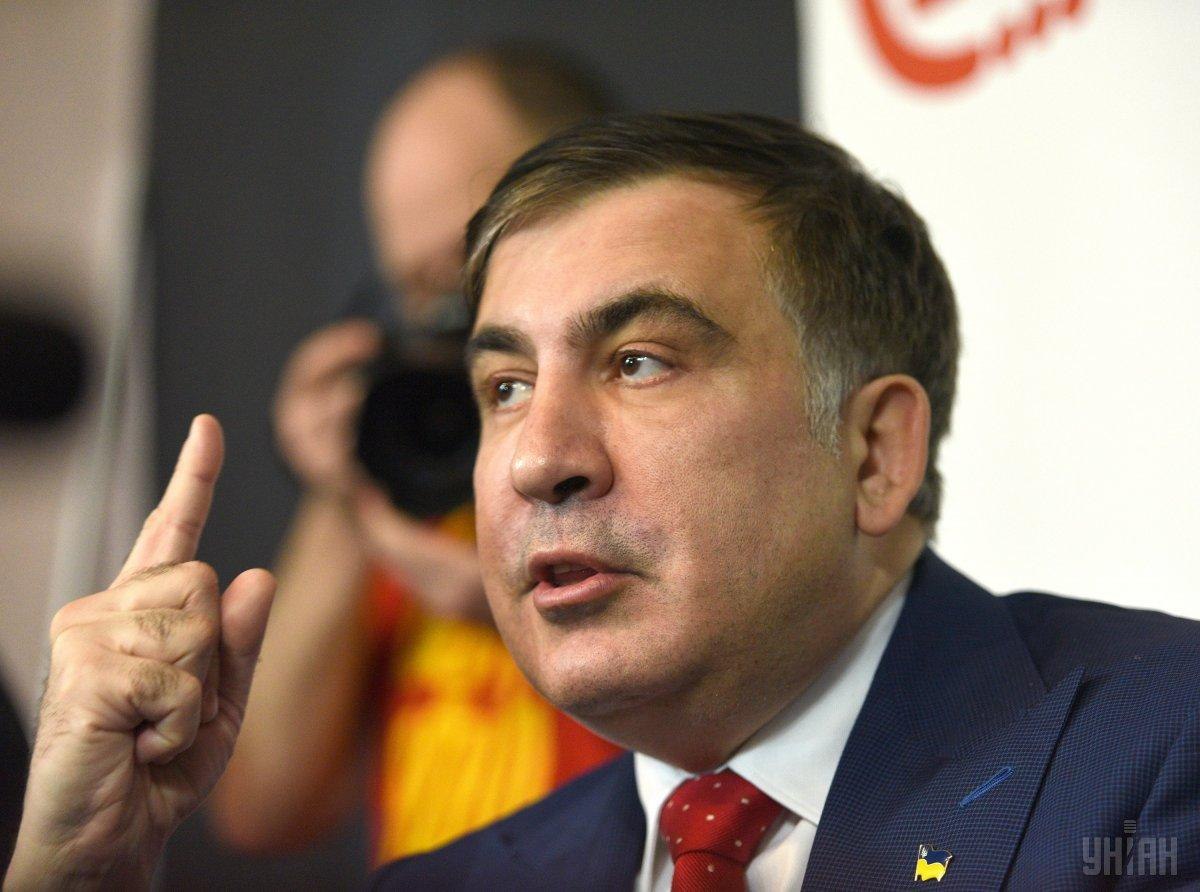 Саакашвили отказался объединяться с другими политиками / фото УНИАН