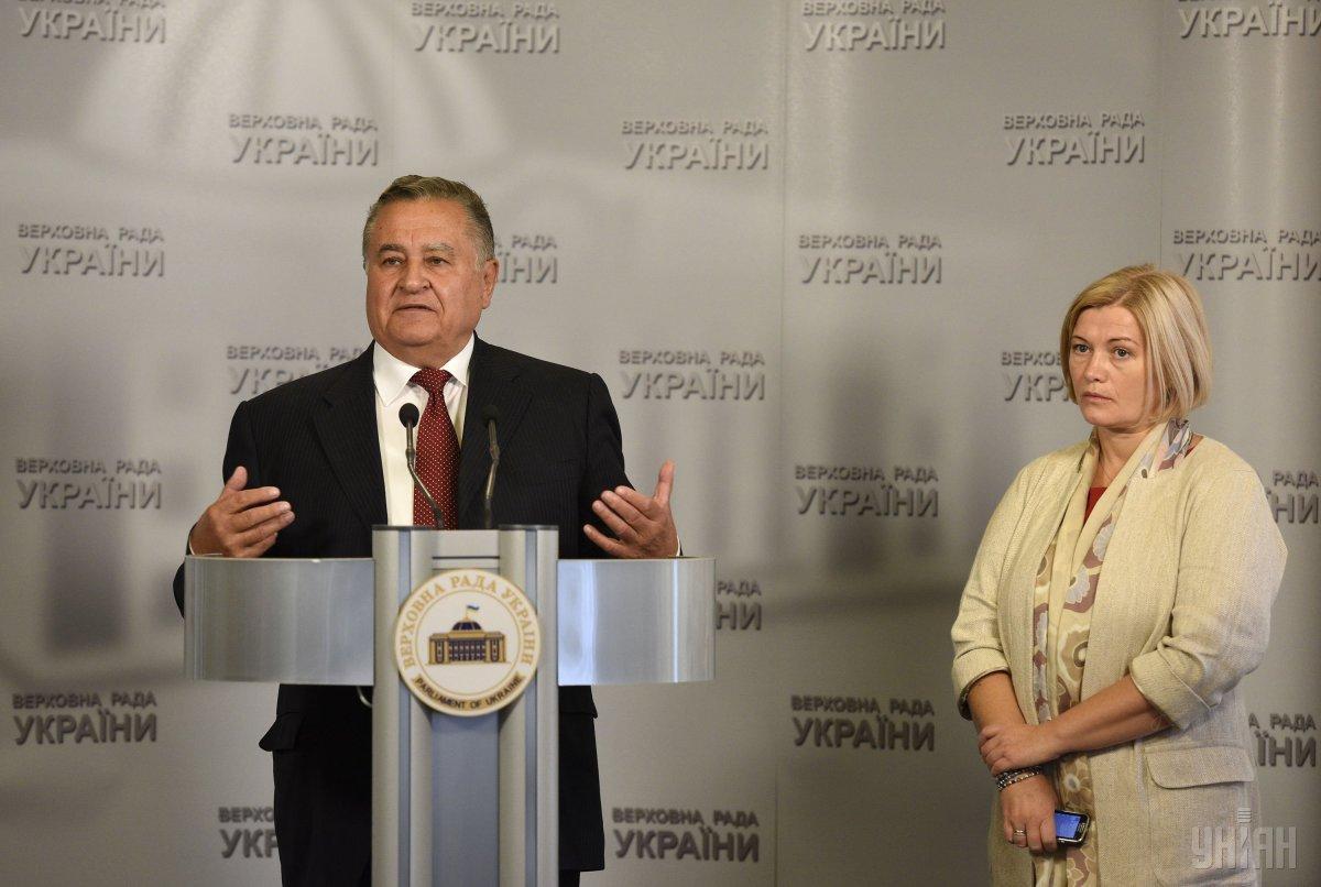 Евгений Марчук и Ирина Геращенко / фото УНИАН