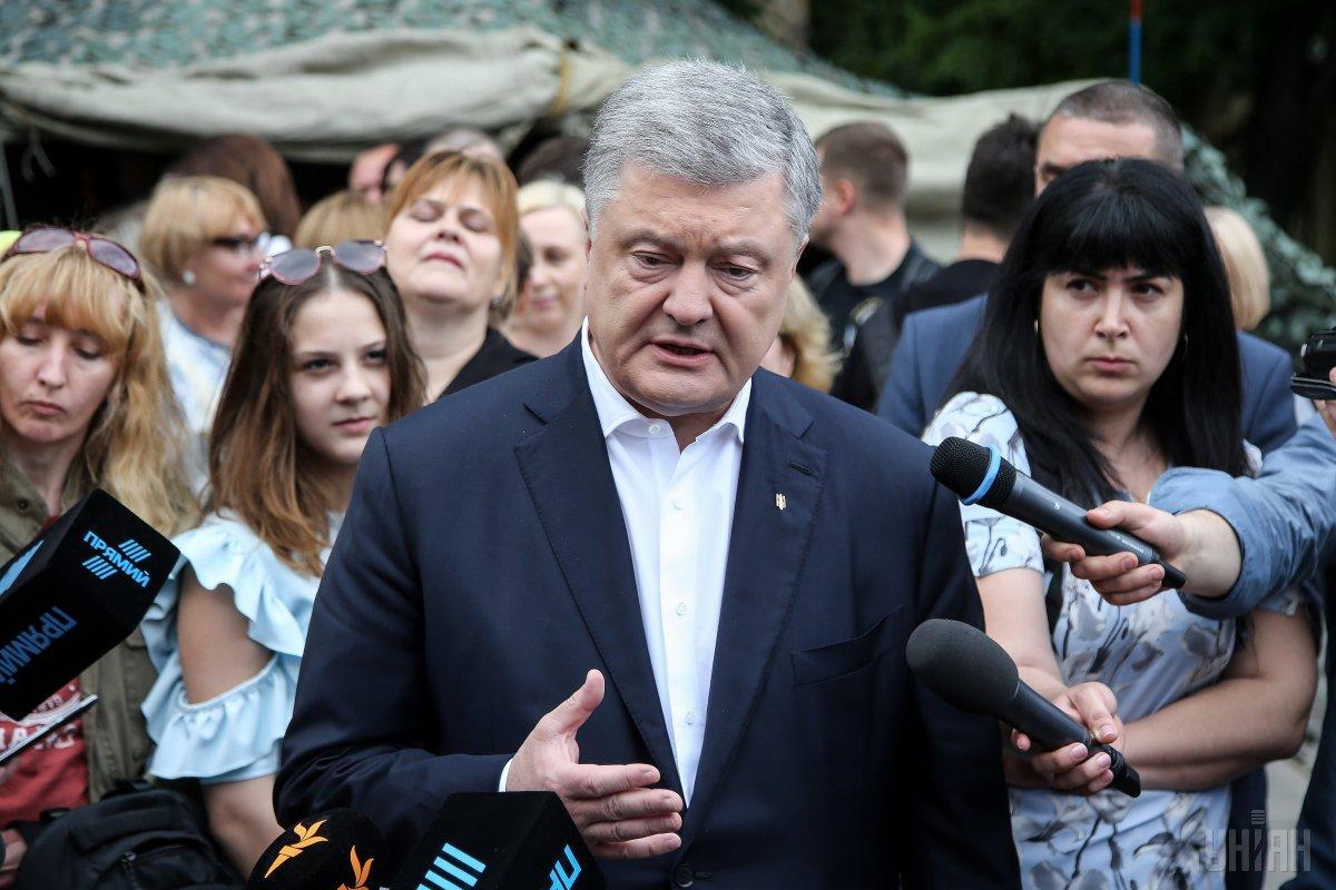 Порошенко объяснил, почему не пришел на Шествие достоинства / фото УНИАН