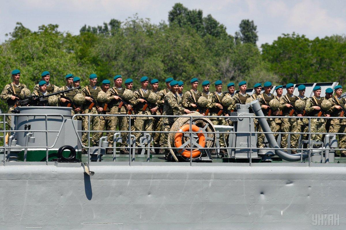 Сегодня - День морской пехоты / фото УНИАН
