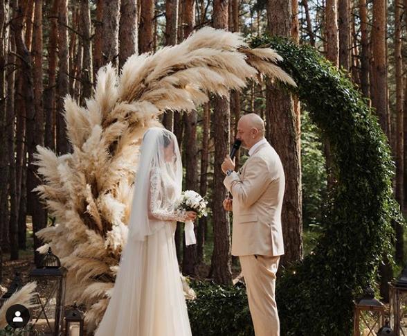 Весілля Каменських і Потапа відбулося 23 травня / фото instagram.com/kamenskux