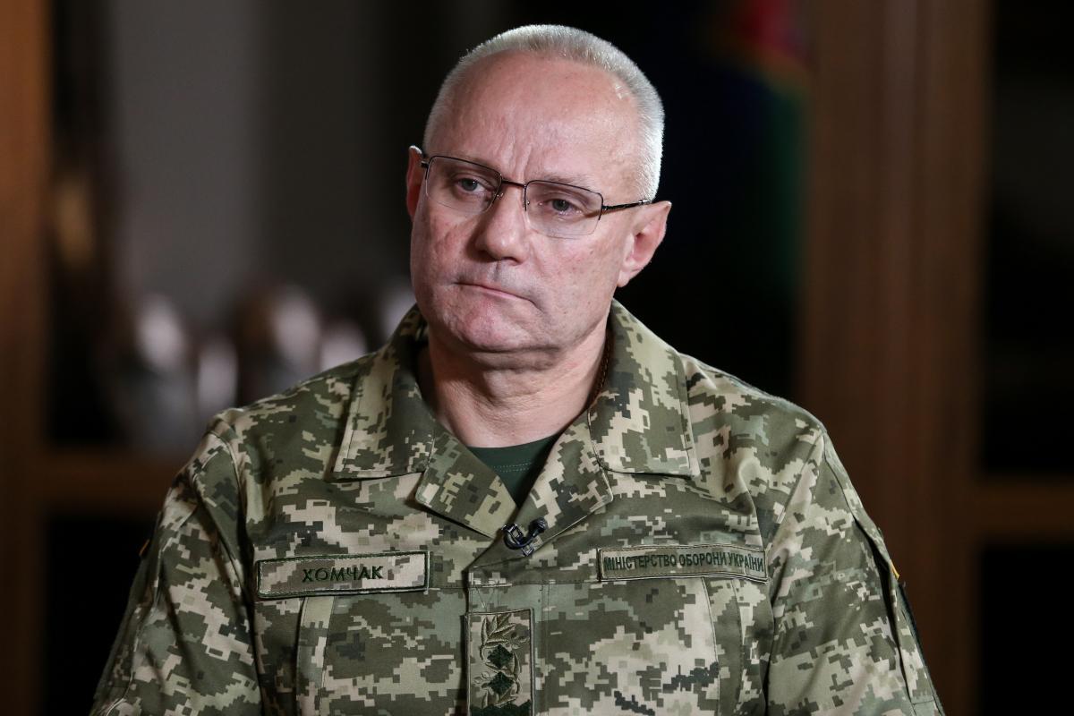 Президент призначив Хомчака головнокомандувачем Збройних сил України / фото УНІАН