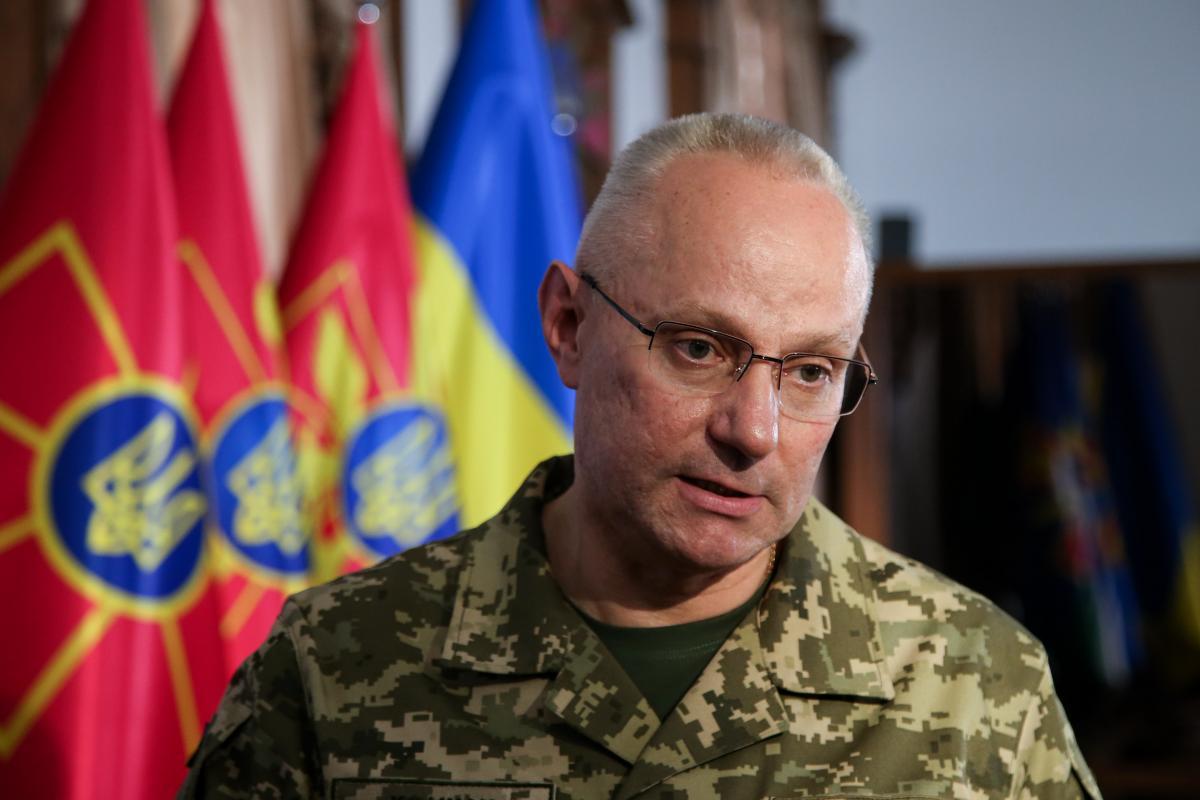 Хомчак поблагодарил НАТО за военную поддержку в борьбе с российской агрессией / УНИАН