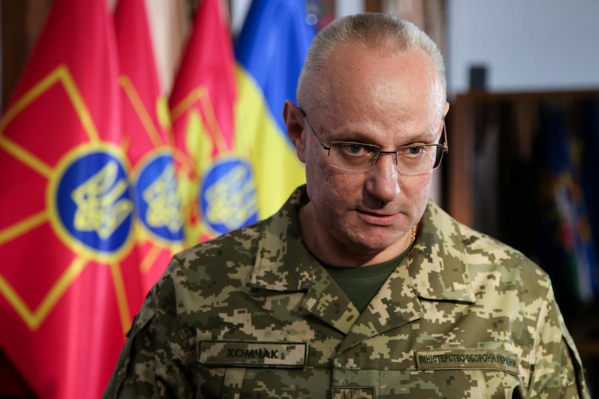Хомчак осуществляет непосредственное военное руководство Вооруженными силами \ УНИАН