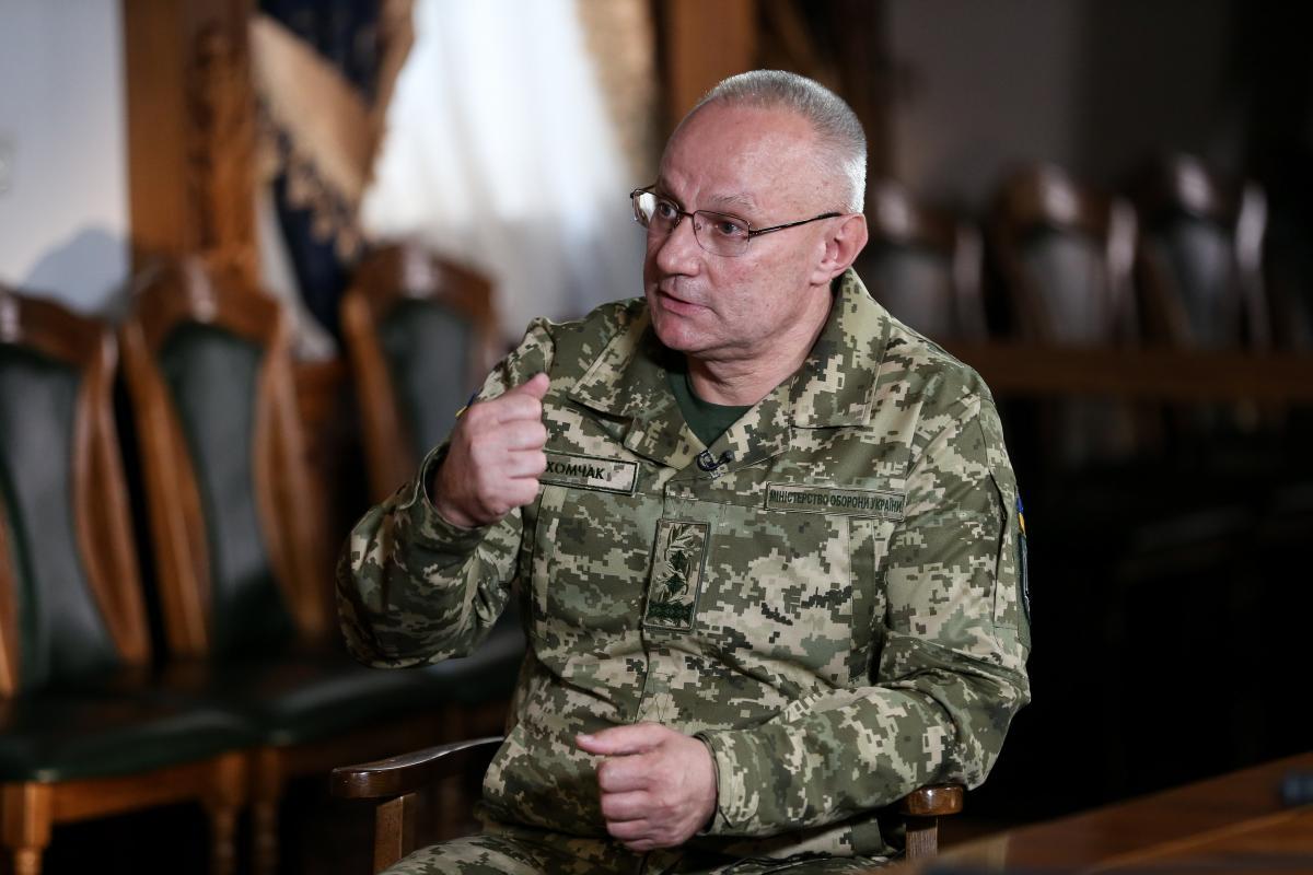 Хомчак рассказал, достаточно ли обеспечены ВСУ / фото УНИАН