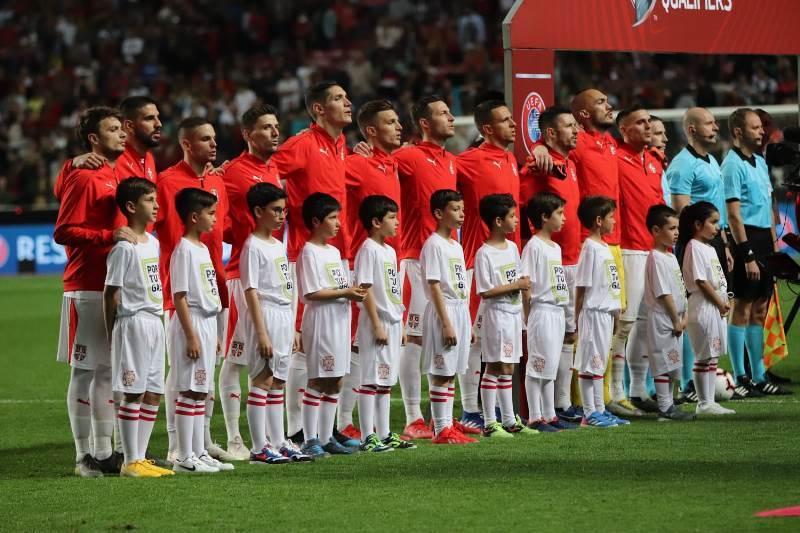 Сборная Сербии по футболу / fss.rs