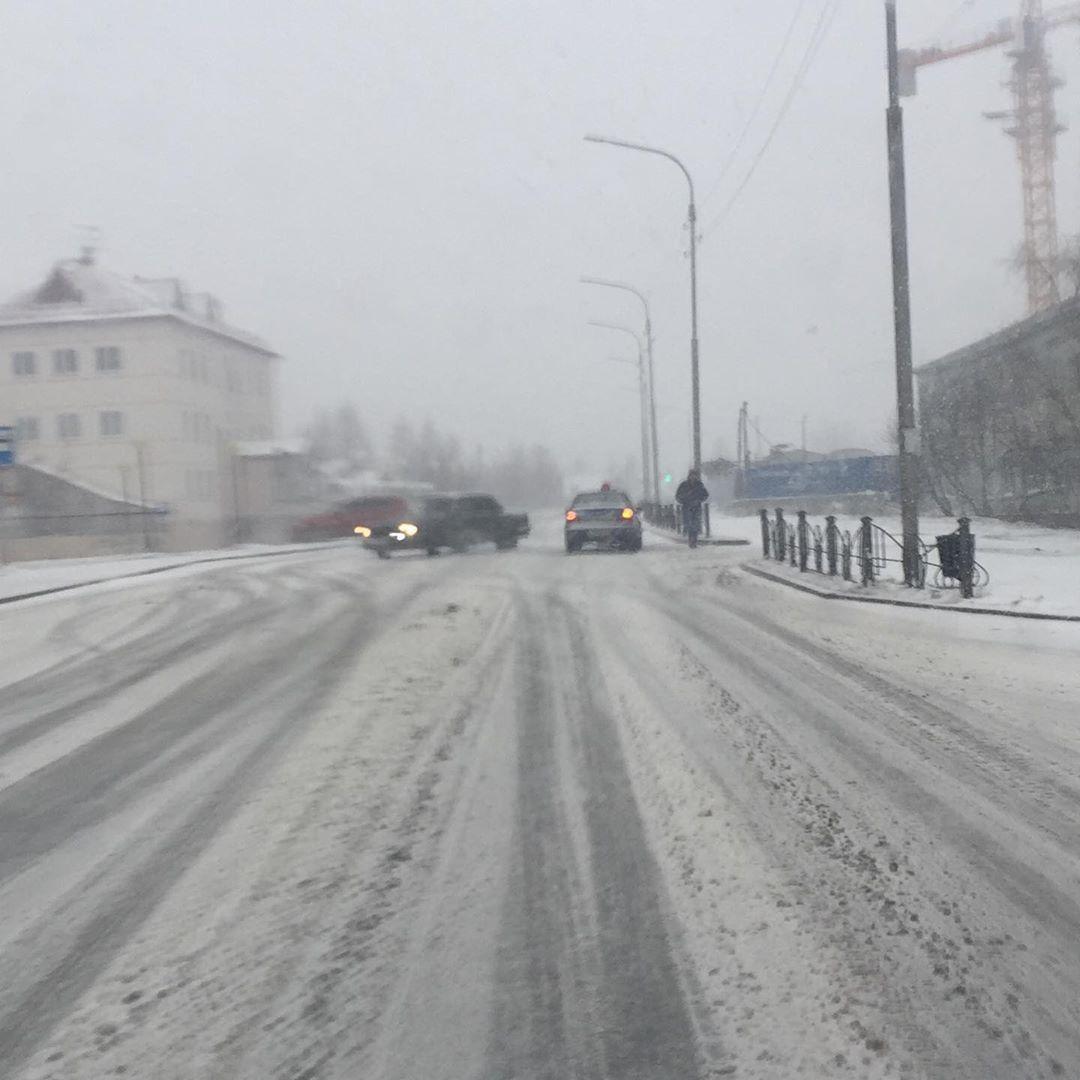 В Салехарде выпал снег / www.instagram.com/salekhard_yamal89/