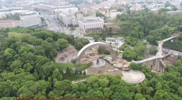 Новый мост откроют уже завтра / скриншот видео ТСН