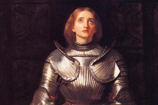 Жанна д'Арк была причислена к лику святых