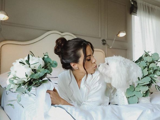 Каменских очаровала сеть милым фото со своей собакой / фото instagram.com/kamenskux