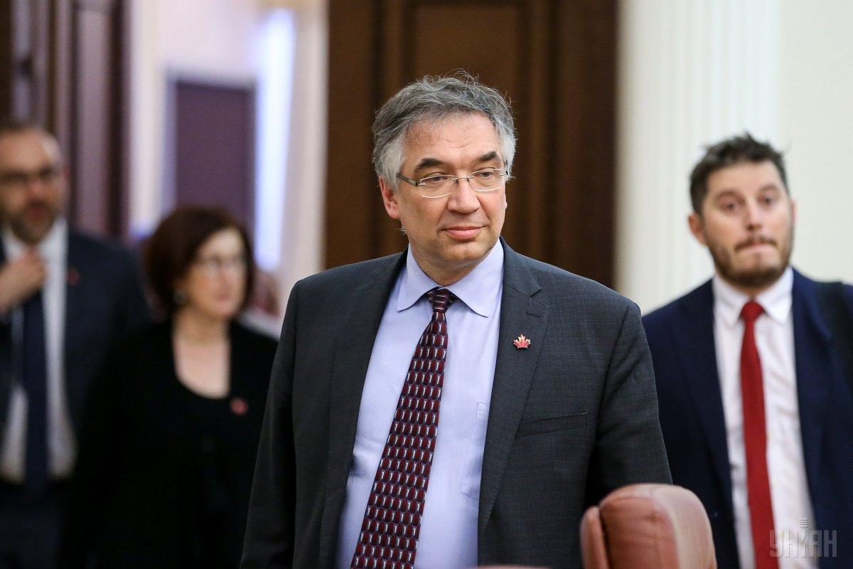 Посол Канади в Україні Роман Ващук / фото УНІАН