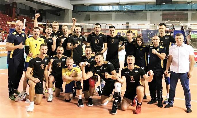 Збірна України з волейболу / fvi.in.ua