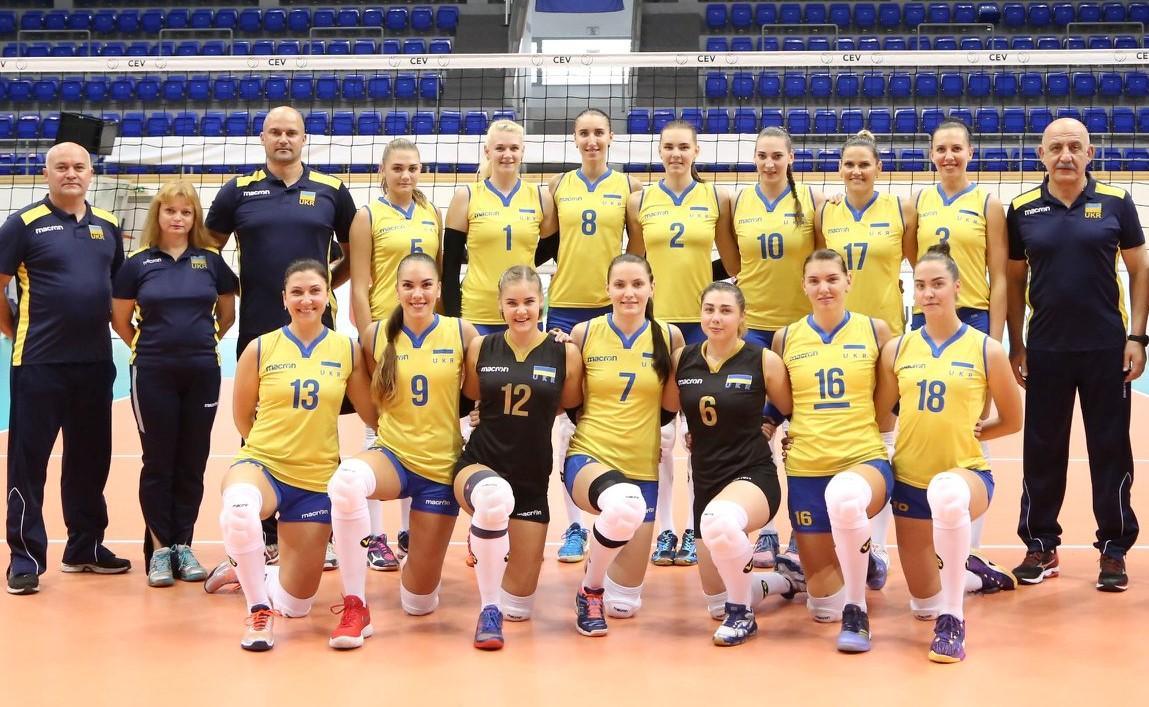 Жіноча збірна України з волейболу / прес-служба ФВУ