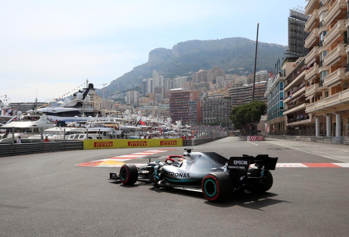 Хемілтон виграв кваліфікацію Гран-прі Монако / REUTERS