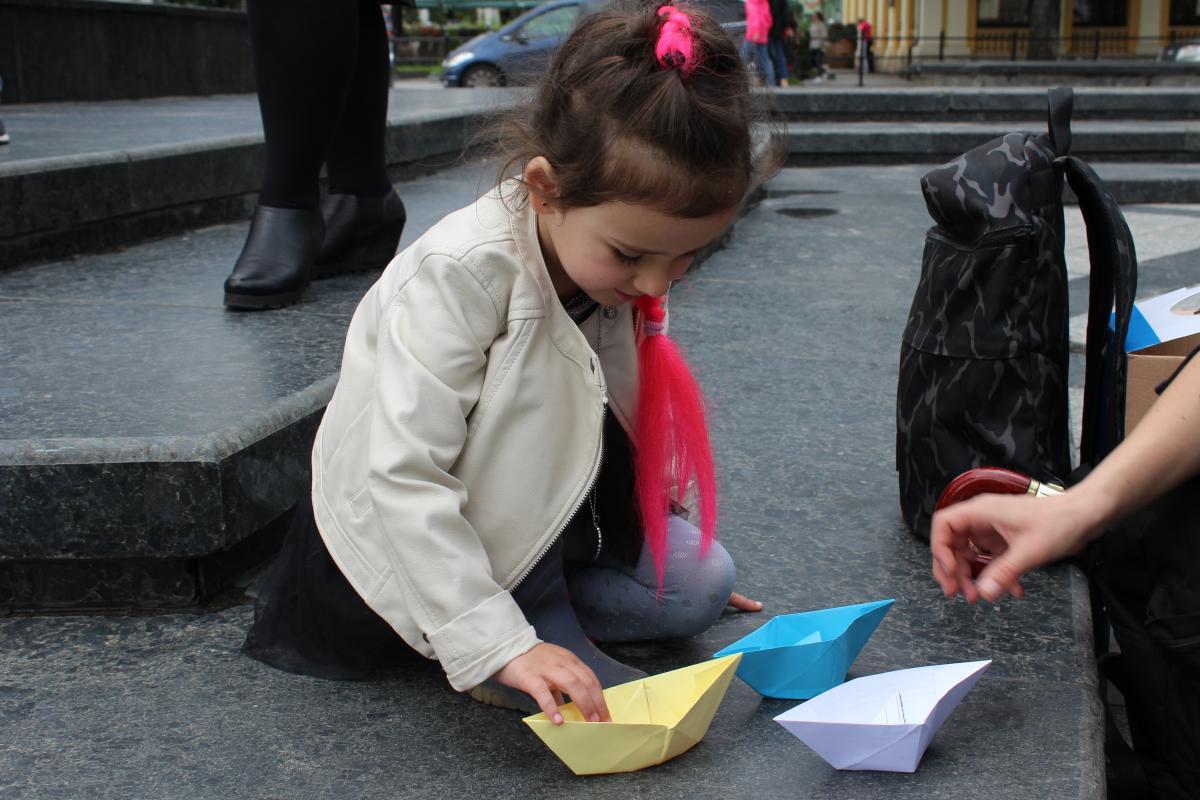 Во Львове прошла акция в поддержку пленных моряков / Фото: galinfo.com.ua