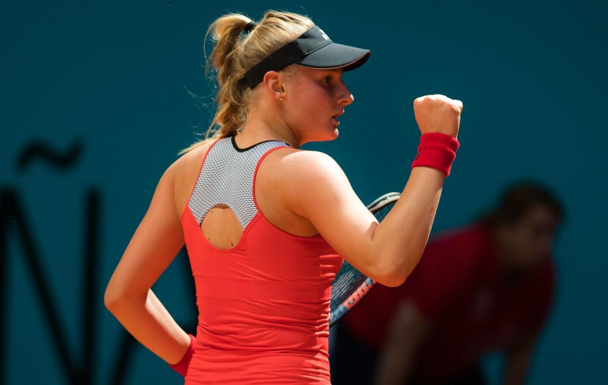 Даяна Ястремская пробилась во второй круг / фото: WTA