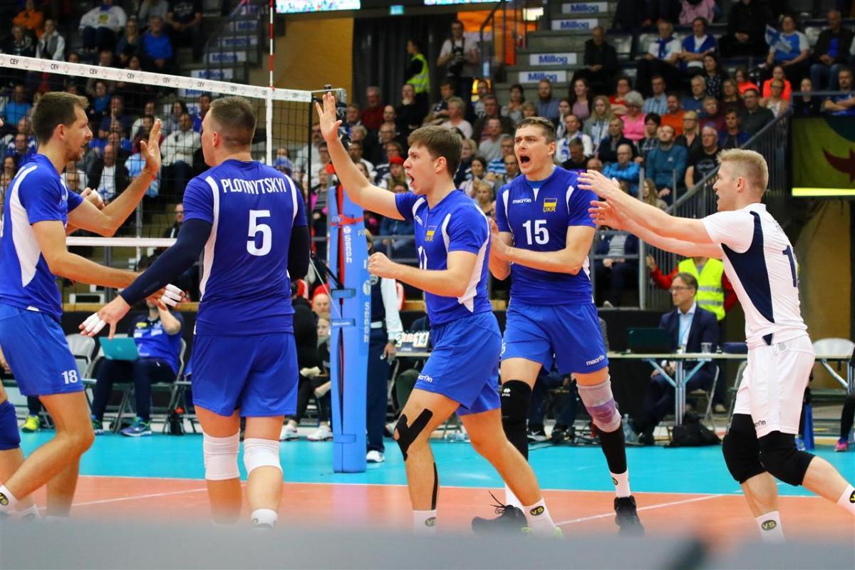 Збірна України з волейболу стартувала в Золотій Євролізі з перемоги над Фінляндією / CEV