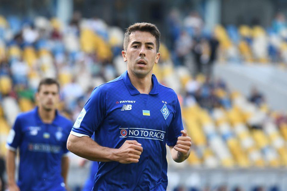 Карлос де Пена забил один гол в шести матчах за Динамо в УПЛ / фото: ФК Динамо Киев