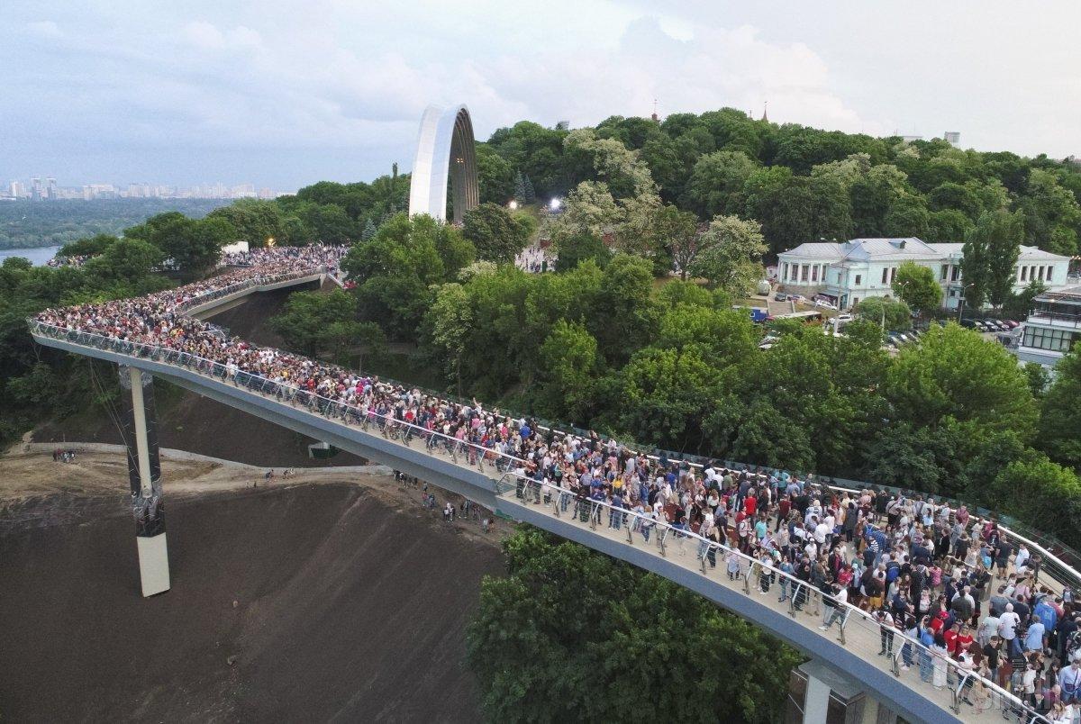 В Киеве сбор для иностранных туристов определили на уровне 42 грн / фото УНИАН