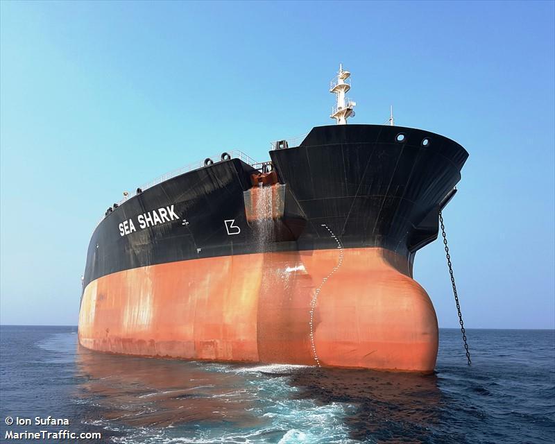 Часть украинцев с судна Sea Shark вернулась домой / Ion Sufana - marinetraffic.com