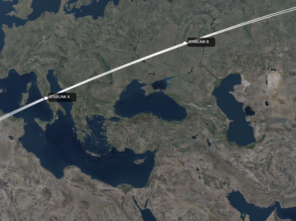 Каждый из них будет лететь вокруг планеты на расстоянии 550 км от поверхности / скриншот