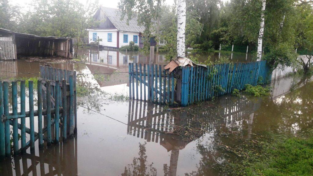 На території Житомирщини  зареєстровано 6 випадків підтоплення приватних домоволодінь / ДСНС