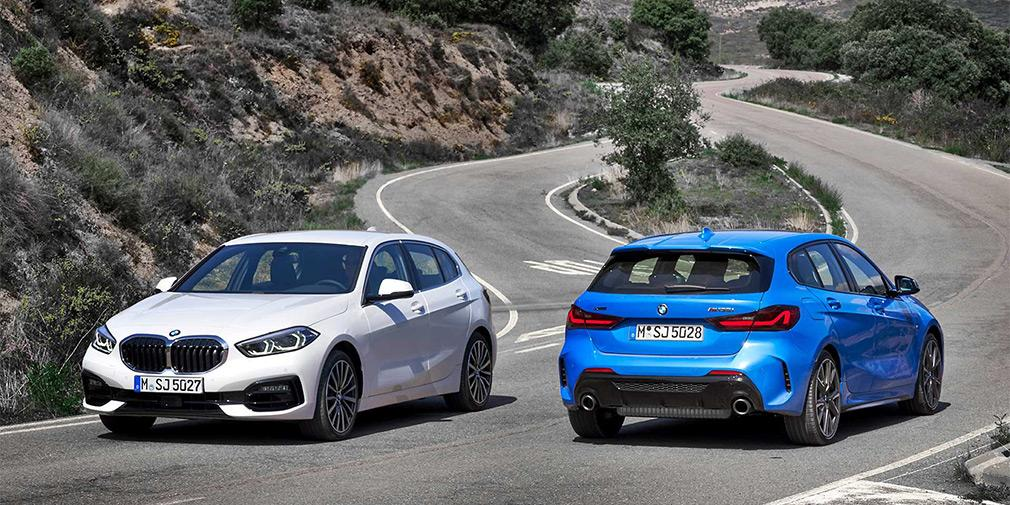 В качестве опции предложен полный привод / фото BMW