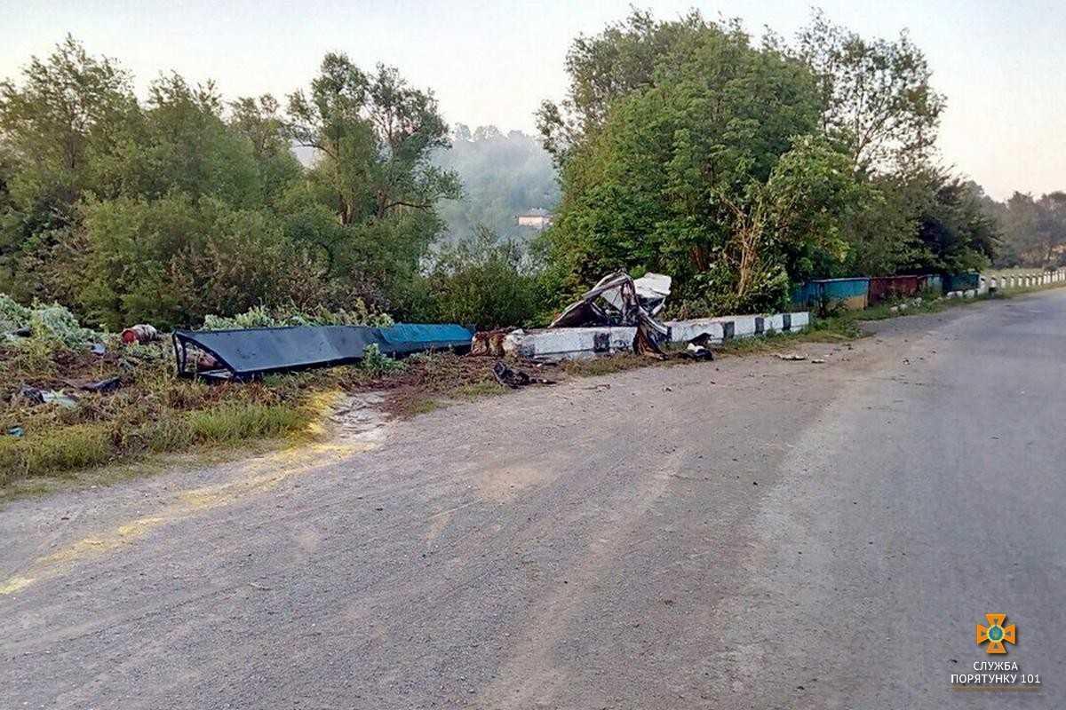 Явныепризнаки утечки газа из цистерны отсутствуют / фото: ГУ ГСЧС Тернопольщины
