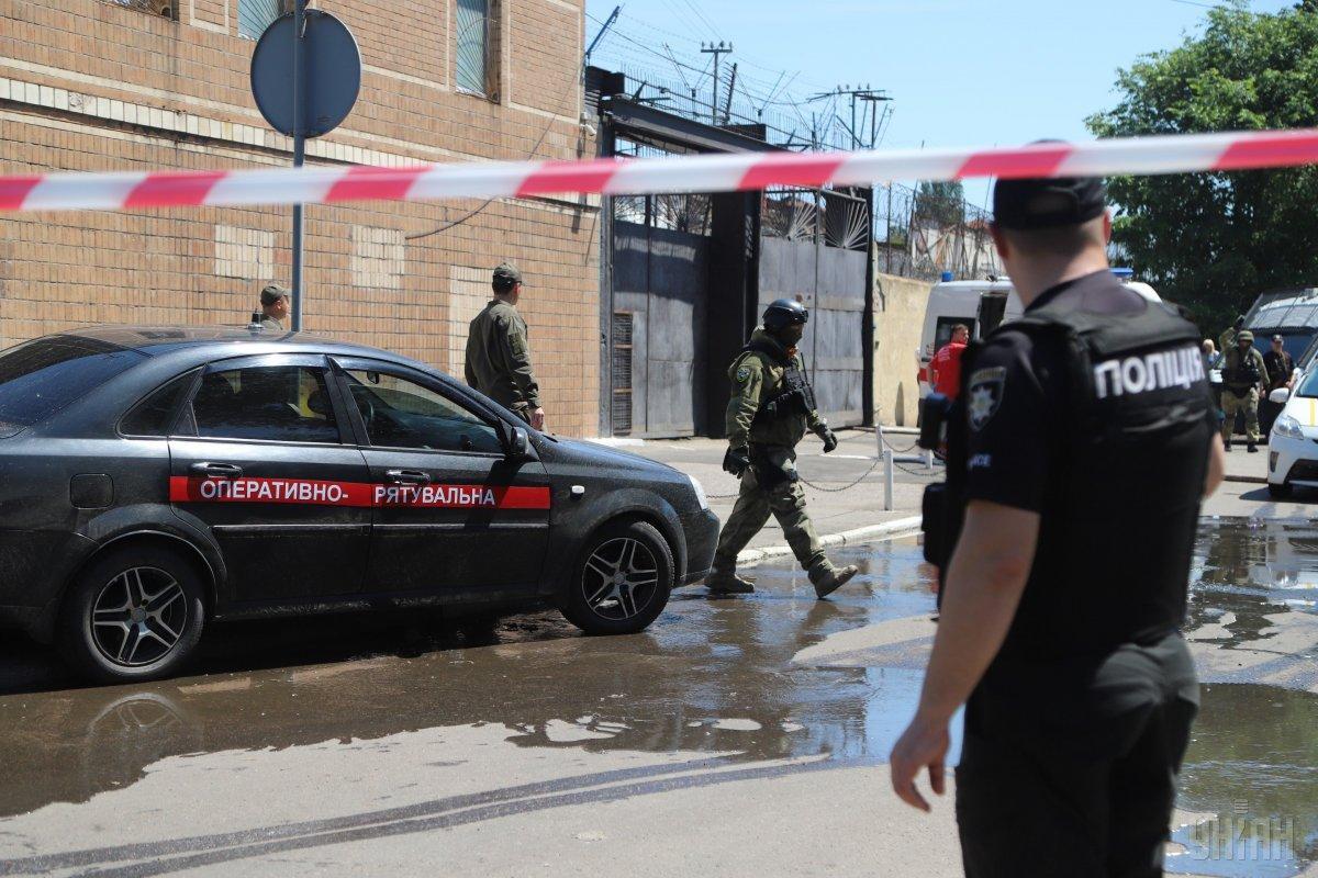 В Одесі поліція не має в своєму розпорядженні інформації про втечу ув'язнених із колонії, де стався бунт / фото УНІАН