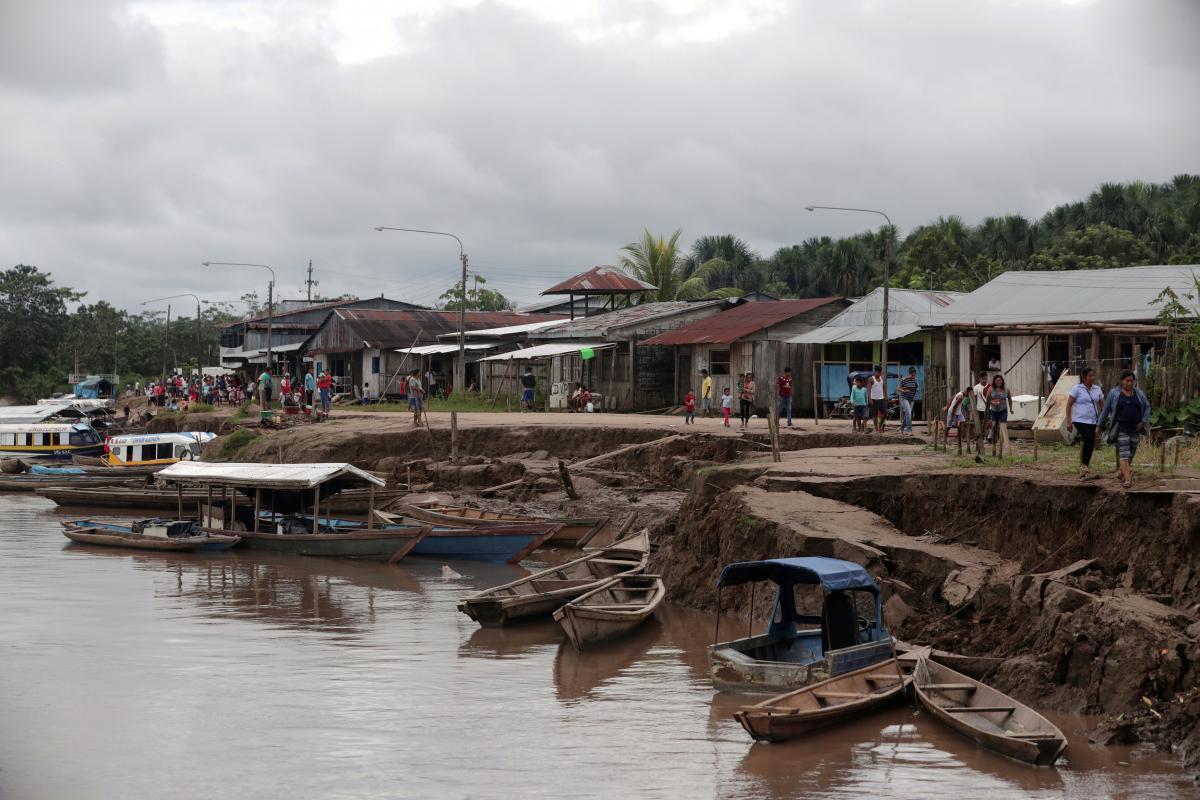 Последствия землетрясения в Перу / REUTERS