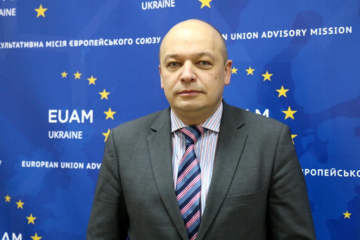 Кястутис Ланчинскас раскритиковал Луценко / .euam ukraine.eu