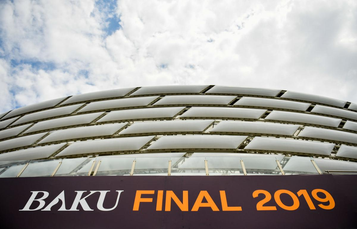 Финал Лиги Европы впервые пройдет в Баку / uefa.com