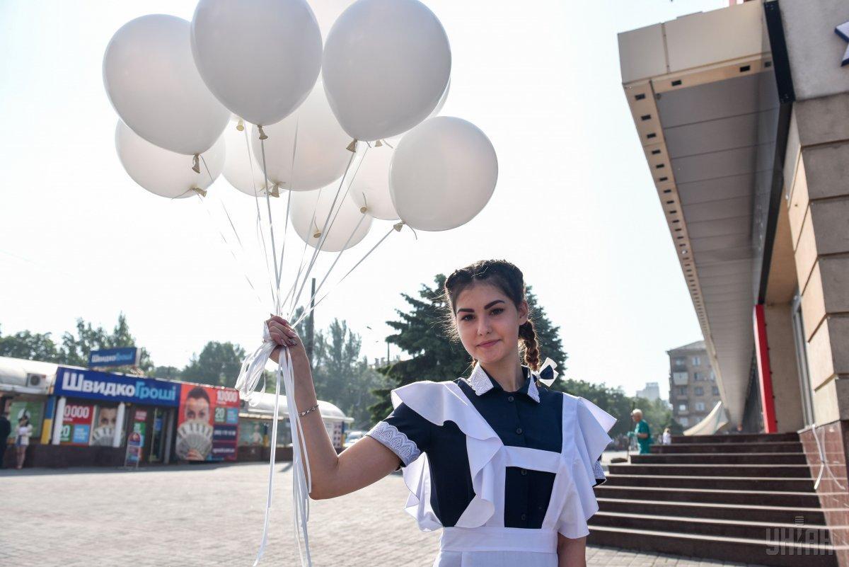 Киевлян призвали отказаться от воздушных шаров на выпускных / УНИАН