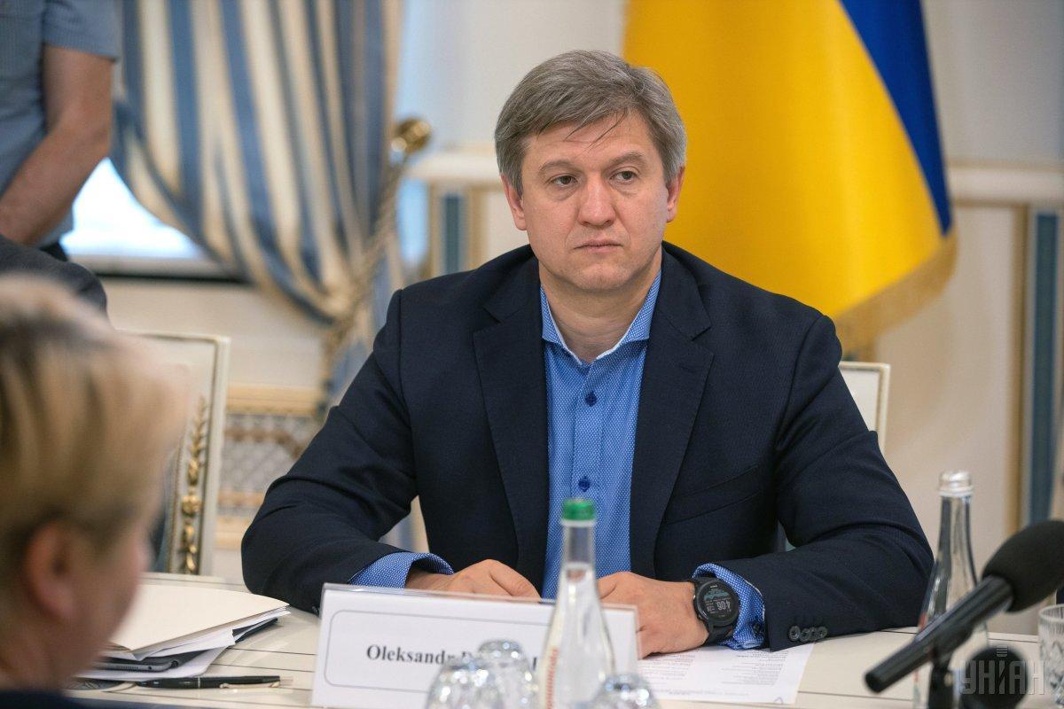 Данилюк заявляет, что в настоящее время видит свое будущее именно в СНБО / Фото УНИАН