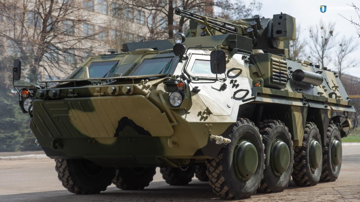 Ранее БТР-4 с новыми корпусами проходилииспытания / фото Укроборонпром