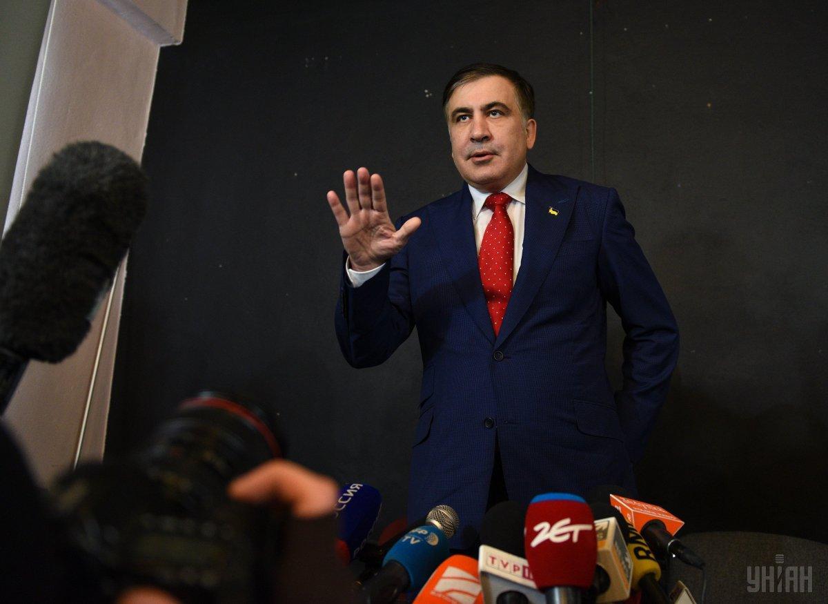 По мнению Саакашвили, сейчас в Украине нет давления на суд/ фото УНИАН