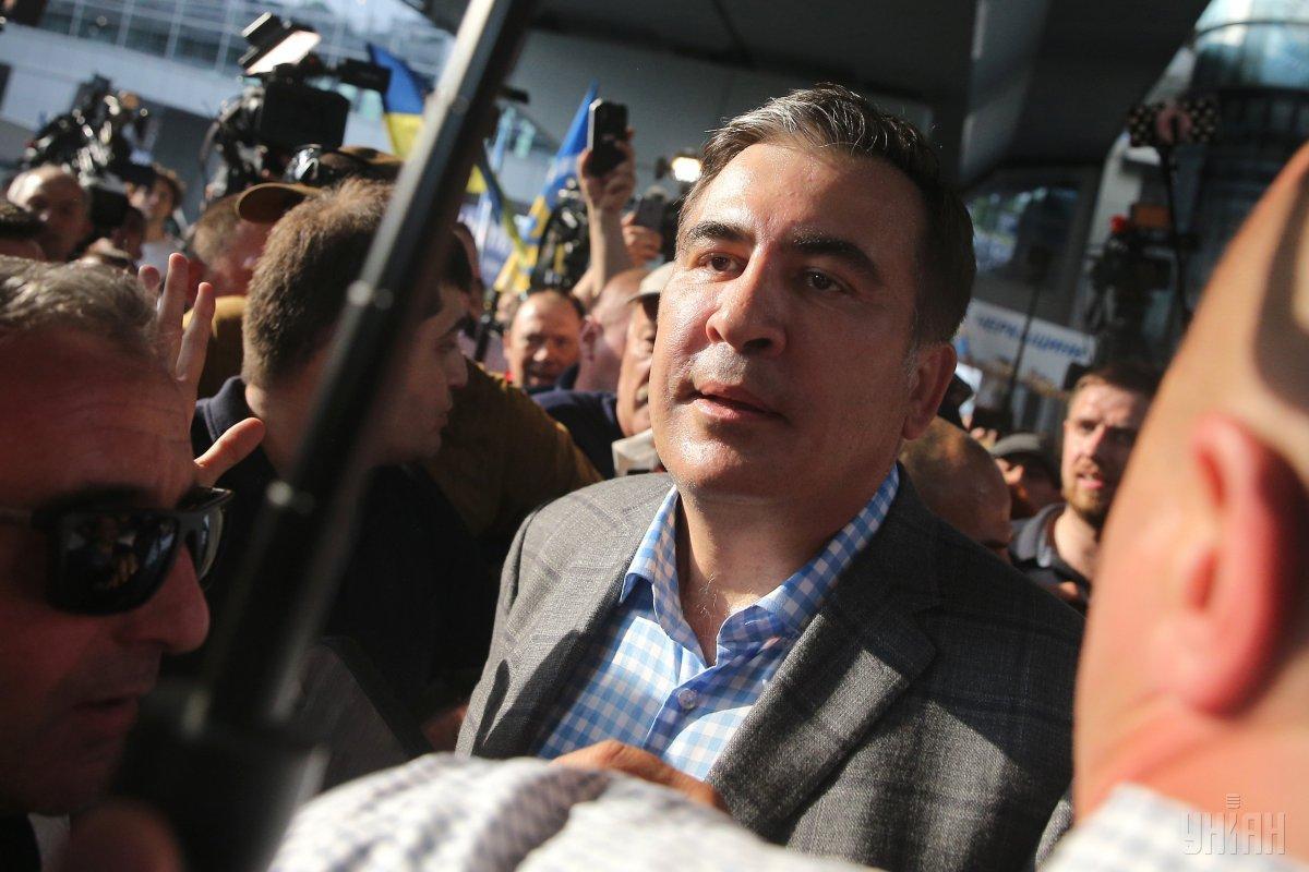 Гахария дал понять, что ждет от Украины гарантий невмешательства Саакашвили во внутреннюю политику Грузии / УНИАН