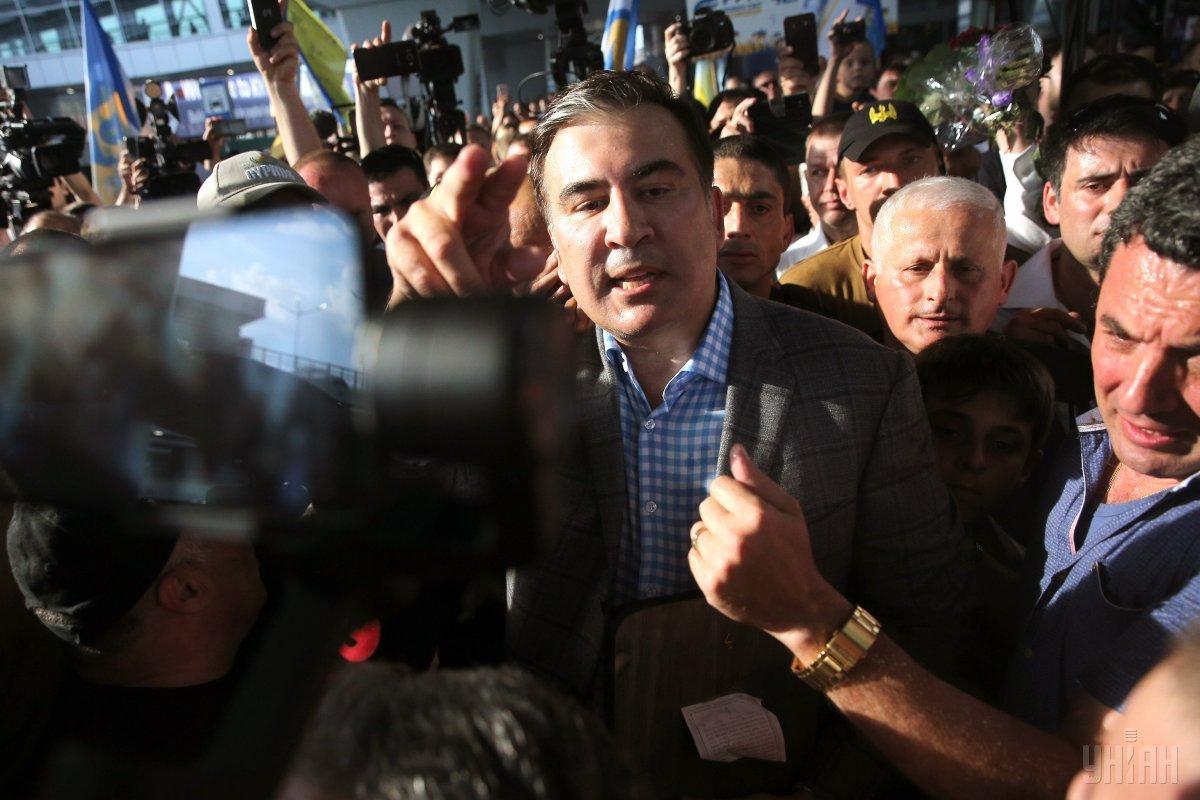 В Грузии уже отреагировали на возможное возвращение Саакашвили / УНИАН