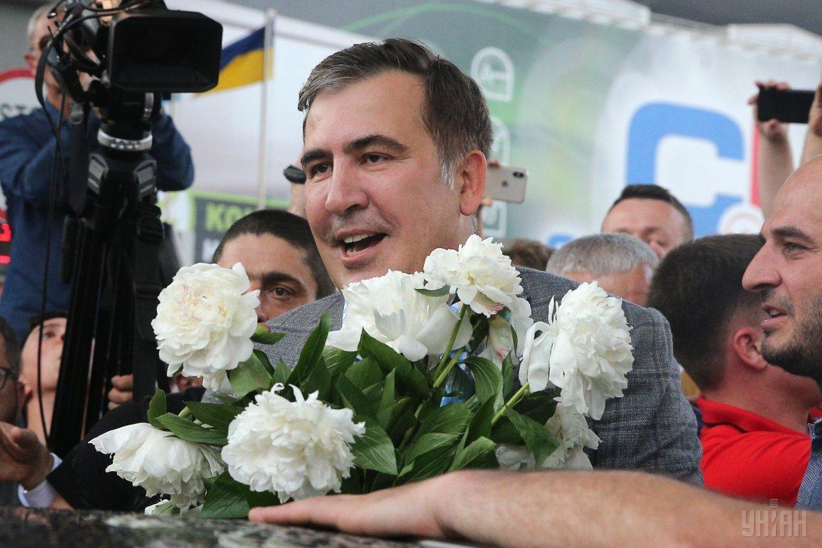 Партия Михеила Саакашвили сможет принять участие в выборах в Раду / УНИАН
